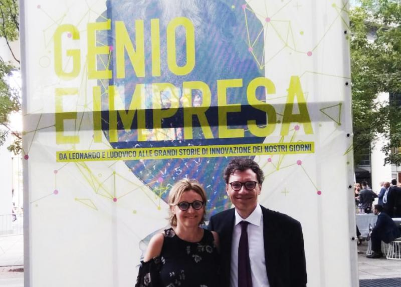 """Genius and entrepreneurship"", COMPLEXDATA in the exposition at Palazzo Lombardia"